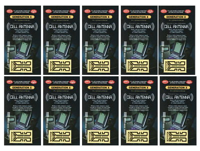 1000 Generation X Gen Cell Phone Antenna Boosters New Wholesale
