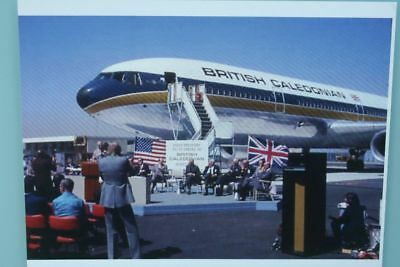 AK Airliner Postcard BRITISH CALEDONIAN DC-10 airline issue?