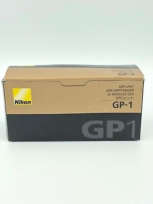 Genuine Nikon GP-1 GPS Unit for Nikon DSLR Cameras NEW in Box!