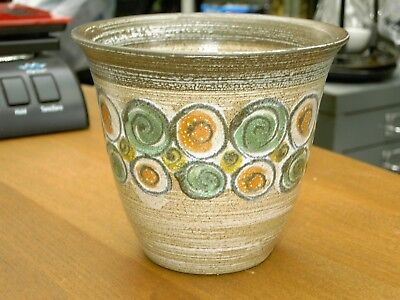"Rare Denby 1960's Medium Size Planter 4 5/8"" Tall In Excellent Con FREE UK P&P"