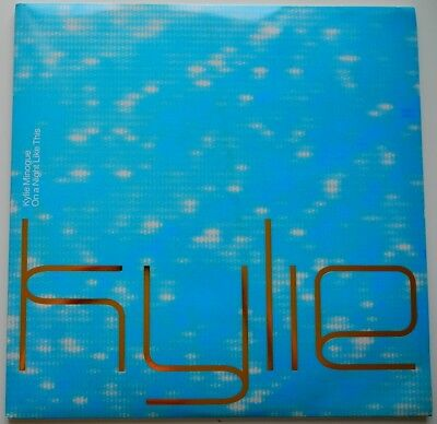 """2 x 12"""" UK**KYLIE MINOGUE - ON A NIGHT LIKE THIS (PARLOPHONE '00 / PROMO)*29897"""
