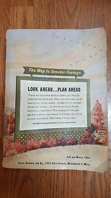 1950 SEARS ROEBUCK and Co. Fall and Winter store catalog