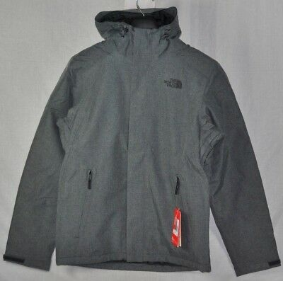 New The North Face Inlux Insulated Jacket Mens Med Grey Heather Fast Ship S- Xxl faf15fdf5