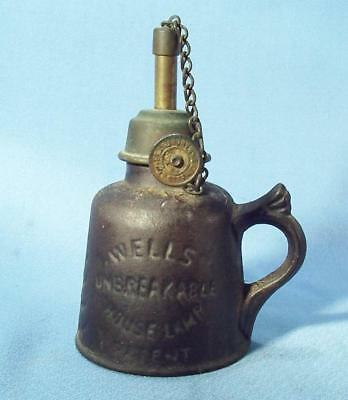 Wells Unbreakable House Lamp   By  A.c. Wells & Co