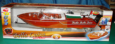Dickie Toys Bella Luisa boat (Riva Ariston)(which Spot-On planned-never made)VG