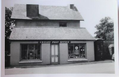 Isle Of Man  Post Office Original Photograph 1970  Crosby