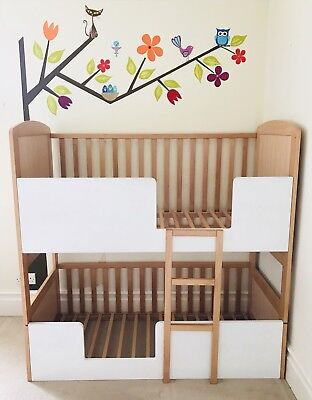Double Bunk Cot Bed