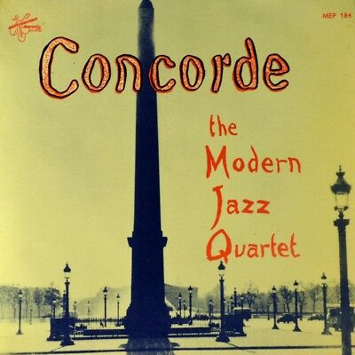 "7"" MODERN JAZZ QUARTET Concorde / Softly As In A Morning Sunrise METRONOME 1956"
