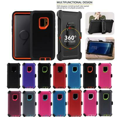For Samsung Galaxy S9/S9+Plus Case Cover w/Screen & Clip fit Otterbox Defender