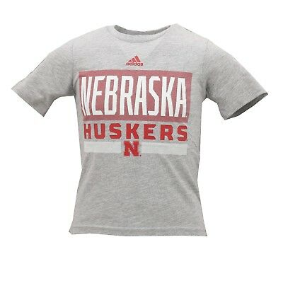c9b4100dc Nebraska Cornhuskers Official NCAA Adidas Youth Kids Size T-Shirt New with  Tags