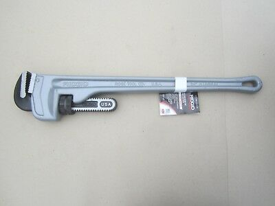 "RIDGID Pipe Wrench,24/"" L,Aluminum 31105"