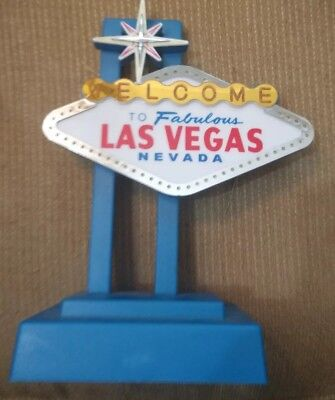 Welcome to Fabulous Las Vegas Nevada Flashing Light-Up Sign  Working w adapter