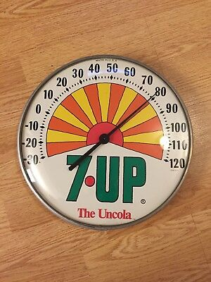 7up thermometer The Uncola Code B71 Nice Original