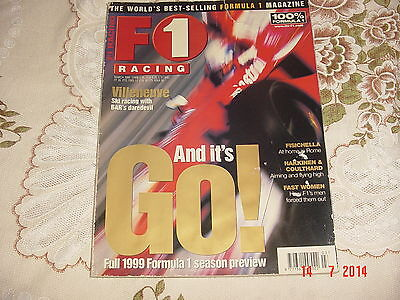 Motor Sport Magazine F1 Racing March 1999 David Coulthard  Murry Walker