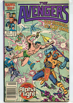 The Avengers Issue #272 (October 1986, Marvel Comics)