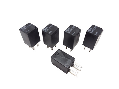 5X 12v 4 Pin Ultra Micro Relay SPDT 20 amp  ISO 280 Automotive Relays 5 Pack