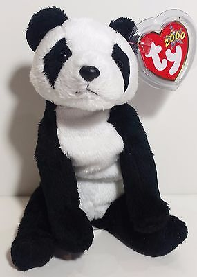 """TY Beanie Babies """"CHINA"""" the PANDA Bear - MWMTs! RETIRED! GREAT GIFT! MUST HAVE!"""