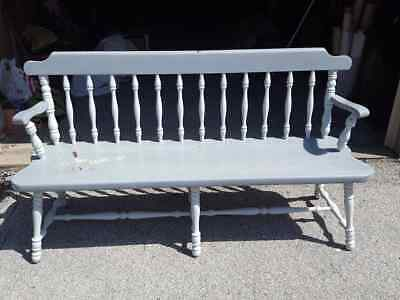 6-Ft Long Early American-Style Maple Deacons Bench•farmhouse•porch•entry Way!!!