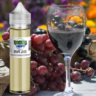 ROCKINDROPS Grape Juice Food Flavor Flavoring Concentrate TFA 10ml 30ml 50ml