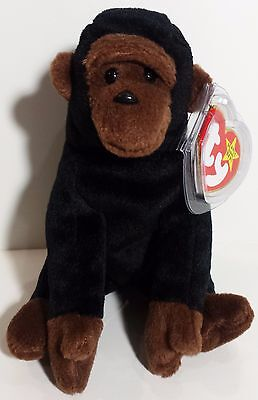 """TY Beanie Babies """"CONGO"""" the GORILLA - MWMTs! GREAT GIFT! CHECK OUT MY BEANIES!"""