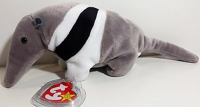 """TY Beanie Babies """"ANTS"""" the ANTEATER - MWMTs! RETIRED! MUST HAVE! PERFECT GIFT!"""