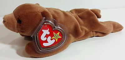 """TY Beanie Babies """"CUBBIE"""" the BEAR - MWMTs! RETIRED! A MUST HAVE! PERFECT GIFT!"""