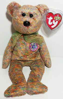 """TY Beanie Babies """"SPECKLES"""" Internet Exclusive Bear - MWMTs! RETIRED! MUST HAVE!"""