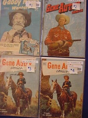 Hopalong Cassidy, Lash Larue, Monte Hale, Roy Rogers, Red Ryder Comic, See Info