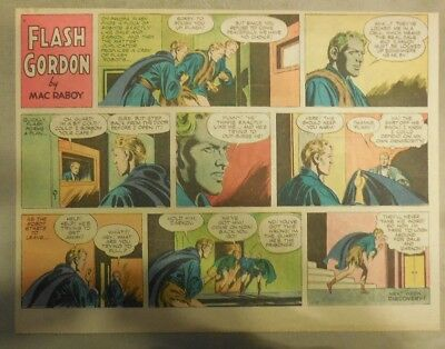 Flash Gordon Sunday Page by Mac Raboy from 12/9/1956 Half Page Size