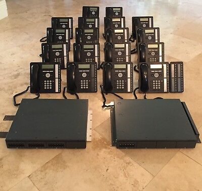 Avaya IP Office IP500 V2 Complete System with 18 Phones