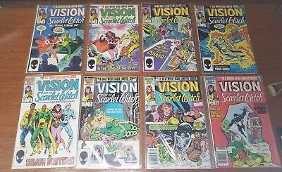 The Vision and the Scarlet Witch #4 -12