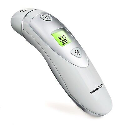 Morpilot Forehead and Ear Thermometer Dual Mode Professional Digital Medical ...