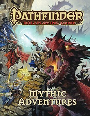 NEW - Pathfinder Roleplaying Game: Mythic Adventures by Bulmahn, Jason