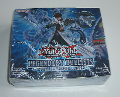 Yu-Gi-Oh - Legendary Duelists: White Dragon Abyss - Display - NEU OVP - Deutsch