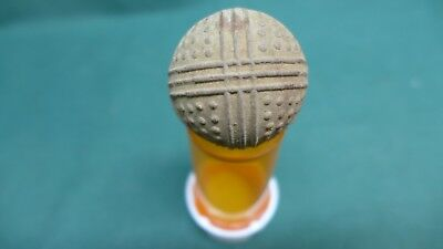 Rare Vintage Old Antique Bramble Golf Ball with Rings & Dots ca 1910