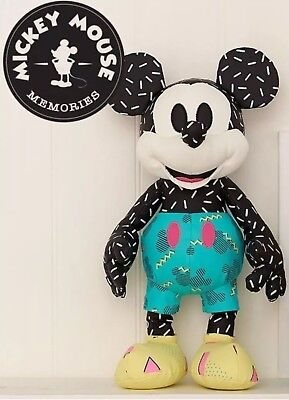 •100% Auth Usa• Disney Mickey Mouse Memories Mickey Plush September Limited Doll
