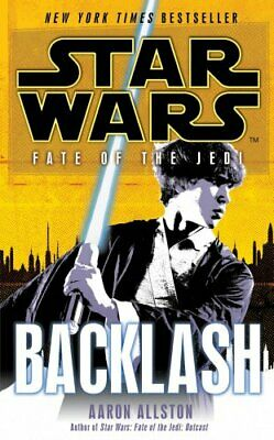 Star Wars: Fate of the Jedi: Backlash by Allston, Aaron Paperback Book The Cheap