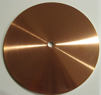 """rle 8""""  COPPER LAP, BRAND NEW FACETING"""