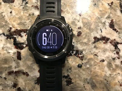 Garmin Fenix 3 HR sapphire Smartwatch with Heart Rate Monitor Black Color