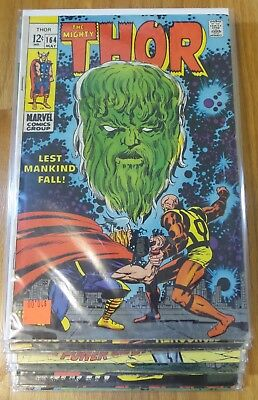 MIGHTY THOR 164 -192 13 Issue Lot Vol 1 Silver Age Comics Avengers Ship $3.89