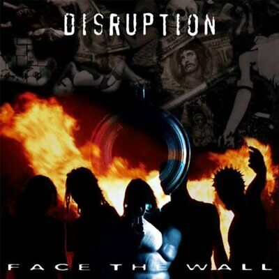 Disruption - Face the Wall - Disruption CD J4VG The Cheap Fast Free Post The
