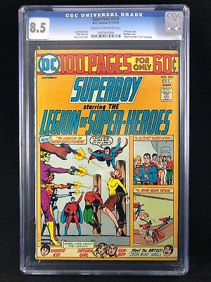Superboy and the Legion of Super-Heroes #205 CGC High Grade! Bondage cover 100pg
