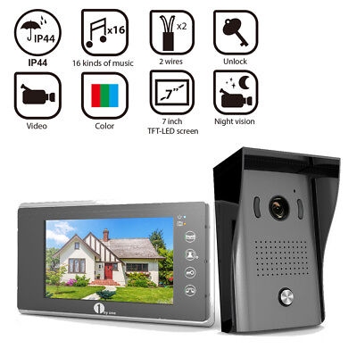 1byone Smart Video Doorphone Doorbell Visual Camera Record Home Security System
