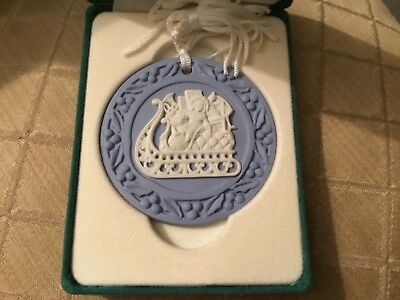 Wedgwood England Annual Christmas Ornament, Boxed