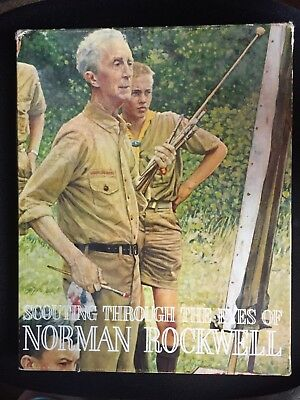 VINTAGE~SCOUTING THROUGH THE EYES of NORMAN ROCKWELL~Full set 42 - 11x14 PRINTS