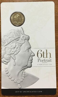 2019 RAM $1 UNC - 6th portrait a new effigy era