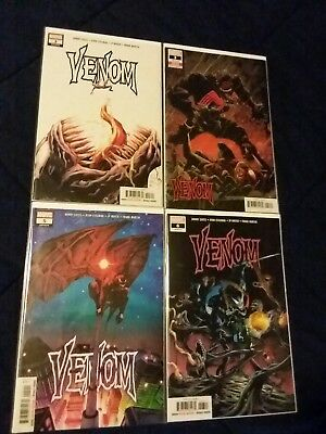 Venom 3 variant First Appearance of Knull Symbiote God Donnie Cates 2018 5 6 lot