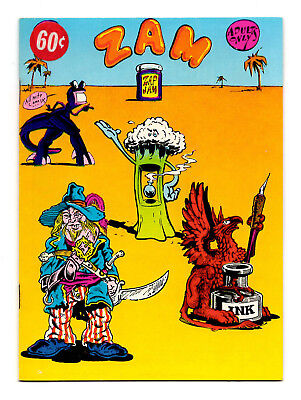 Zam - A Zap-Jam Digest Underground / 1974 R. Crumb and the Gang! - FN/VF 7.0