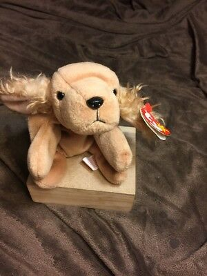 c4e8a25e122 TY ORIGINAL BEANIE Baby Spunky the Cocker Spaniel ERRORS -  199.00 ...