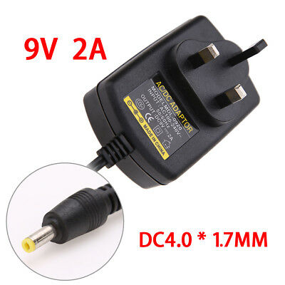 9V 2A AC to DC Universal Switching Power Supply Adapter Plug Mains Transformer